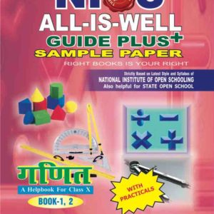 MATHEMATICS 211 HINDI MEDIUM ALL IS WELL GUIDE PLUS + SAMPLE PAPER WITH PRACTICALS