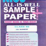 NIOS 319 BUSINESS STUDY 319 ENGLISH MEDIUM ALL-IS-WELL SAMPLE PAPER PLUS