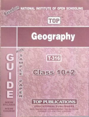 NIOS Geography 316 Guide Books 12th English Medium