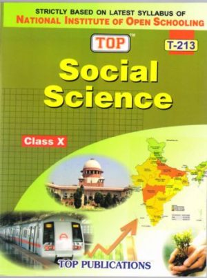 NIOS Social Science 213 Guide Books 10th English Medium