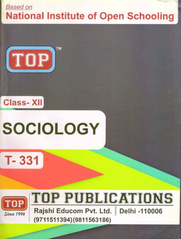 Nios Sociology 331 Guide Books Top