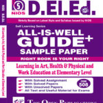 NIOS DELED 508 Learning in Art, Health and Physical and Work Education at Elementary Level English Medium