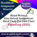 painting 225 nios handwritten solved assignment english medium