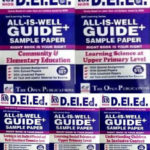 NIOS DELED Books 506 + 507 + 508 + 509 + 510 Combo All Is Well Guide Books (D. EL. ED) English Medium