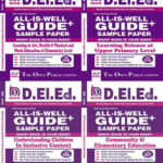 NIOS DELED English Medium 506 + 507 + 508 + 510 Combo All Is Well Guide + Sample Papers Buy NIOS DElEd Books, the best Guide Books and Reference Books.