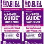 NIOS DELED (D. El. Ed) Combo 508 + 510 ENGLISH MEDIUM All-Is-Well GUIDE + Sample Paper ( NIOS Help Book For D.EL.ED)