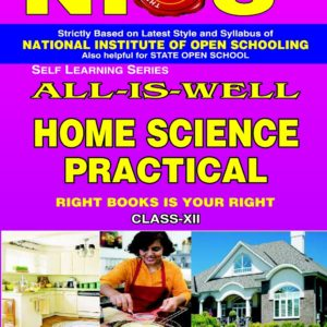 NIOS PRACTICAL MANUAL HOME SCIENCE 321 HELP BOOK IN ENGLISH MEDIUM