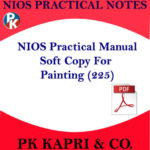 NIOS PAINTING 225 PRACTICAL MANUAL LAB NOTES IN ENGLISH MEDIUM -PDF