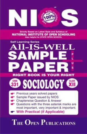 Nios Sample Paper 331 Sociology 331 English Medium All-Is-Well