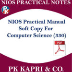 Nios Practical Lab Manual Notes Computer Science for 12th in English Medium Pdf