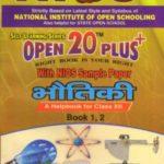 312 Physics (Hindi Medium) Nios Last Time Revision Book Open 20 Plus Self Learning Series 12th Class