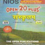 Sanskrit 309 Open 20 Plus HM