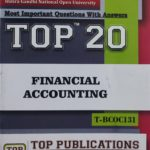 TOP IGNOU T-BCOC-131 Financial Accounting Most important questions with answers (English Medium)