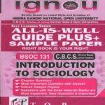 IGNOU BSOC 131 EM All Is Well Guide Plus PK Kapri