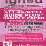 Ignou BHIC 131 EM All Is Well Guide Plus PK Kapri