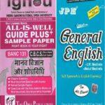 IGNOU BANC 131 Guides + JPH General English Book