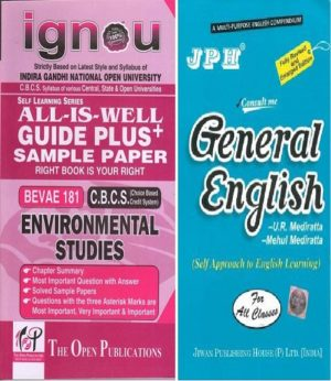 IGNOU BEVAE 181 Guide + JPH General English Book