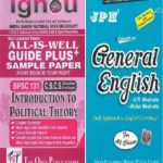 IGNOU BPSC 131 EM All Is Well Guide + JPH General English For All Class Original