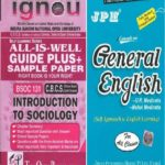 IGNOU BSOC 131 Guide + JPH General English Book