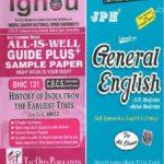IGNOU BHIC 131 Guide + JPH General English Book
